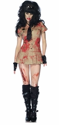 Zombie Female Officer Costume