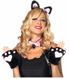 Costumes-3-piece Fluffy Kitten Kit
