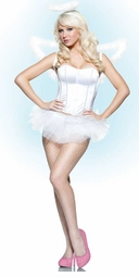 3-piece Angel Costume Kit with Tutu, Halo and Wings