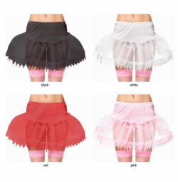 "14"" Long Lace Trimmed Petticoat"