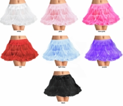 "15"" Long Super Fluffy Petticoat"
