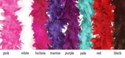 Costumes-Deluxe Highest Quality Feather Boa in Vibrant Colors