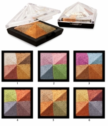 Warm Metallic Eyeshadow Quad