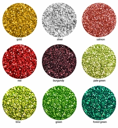 Sparkly Ultra Fine Loose Glitter in 9 Vibrant Colors