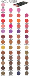 52 Shades of  Lipliner Pencil By NYX Cosmetics