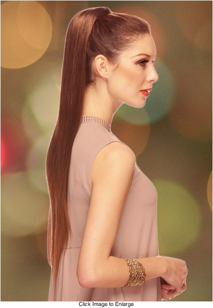"28"" Luxe Straight Hair Hair Piece"