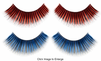Two Tone False Lashes