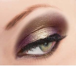 Gold Glitter Powder for Eyeliner and Eye Makeup