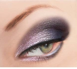 Purple Glitter Powder for Eyeliner and Eye Makeup