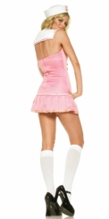 Sexy Sailor Halloween Costume in Pink