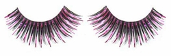 Black Fake Eyelashes with Pink Metallic on Sale Now - Buy 1 Get 1 Free