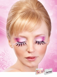 Super Long Pink and Black Lashes for $7.00