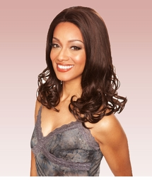 Heat and Styling Safe Lace Front Shoulder Length Wig with Curly Tips