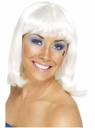 Swedish Gogo Dancer White Wig for $19.99