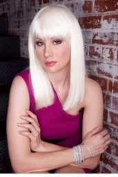 Edgy Chic Pale Blonde Wig for $25.99