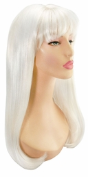 Luxe White Lady Gaga Mistress Wig for $35.00
