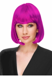 Deluxe Bob Wig in Magenta for $19.99