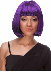 Deluxe Bob Wig in Purple for $19.99