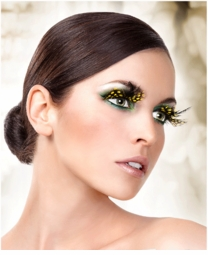 Yellow Eyelash Collection