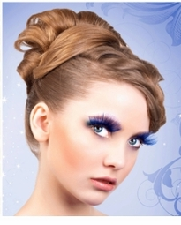 Blue Eyelash Collection