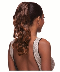 "16"" Long Loose Glamour Curls Draw String Hair Piece"