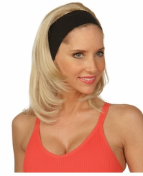 Straight Hair 3/4 Wig with Headband