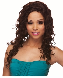 Long Spiral Curls 100% Human Hair Wig