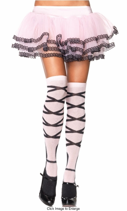 Ballerina Thigh High Stockings