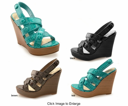 "4.5"" Wedge Platform Shoes ""Gaira"" from Michael Antonio"