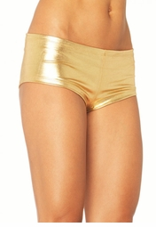 Gold Boy Shorts