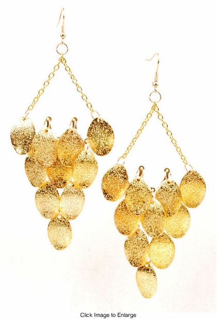 "5"" Gypsy Chandelier Earrings"