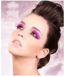 False Eyelashes -Pink Lashes