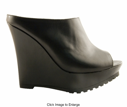 "Luxe 5"" Wedge Leather Shoes ""Guzman"" from Michael Antonio"