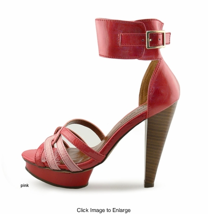 "SALE** 5.75"" Recessed Platform Sandals ""Carla"" from Michael Antonio"