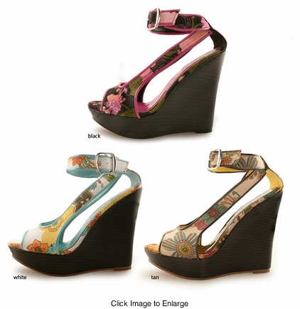 "4.75"" Wedge Shoes ""Halia"" from Michael Antonio"