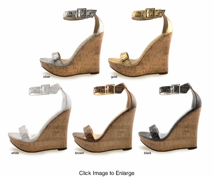 "5"" Wedge Shoes ""Holder"" from Michael Antonio"