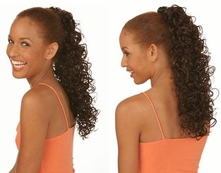Long Glamour Curl Draw String Hair Piece
