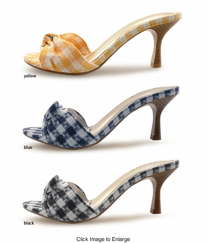"3"" Gingham Shoes"