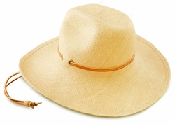"4"" Wide Brim Panama Hat"