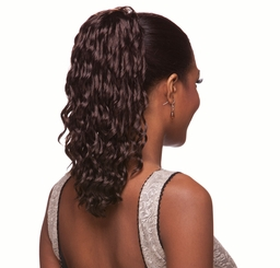 "12"" Spiral Curl Drawstring Hair Piece"