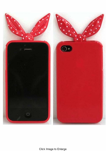 Red Silicone iPhone Cover