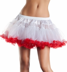 "12"" Long 2-Ply Tulle Petticoat"