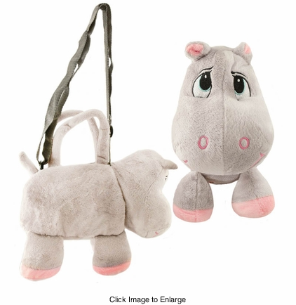 Costumes-Plush Hippo Handbag