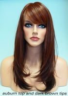 Heat & Styling Friendly Long Hair Wig - Smooth Layers and Full Bangs