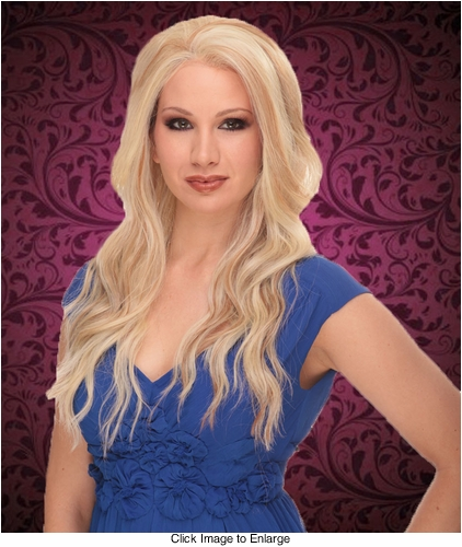 Heat and Styling Friendly Lace Front Wig with Long Luscious Layers