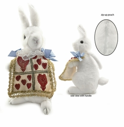 Alice in Wonderland Rabbit Plush Purse