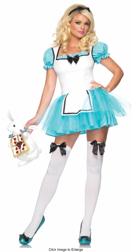 Enchanted Alice in Wonderland Costume
