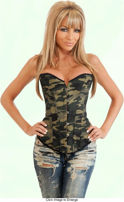 Best Selling Camouflage Corset