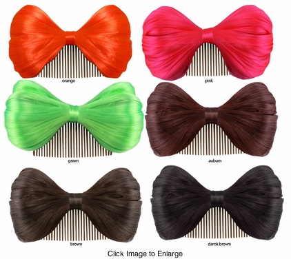 "6"" Wide Hair Bow"