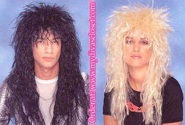 Heavy Metal Head Banger Wigs
